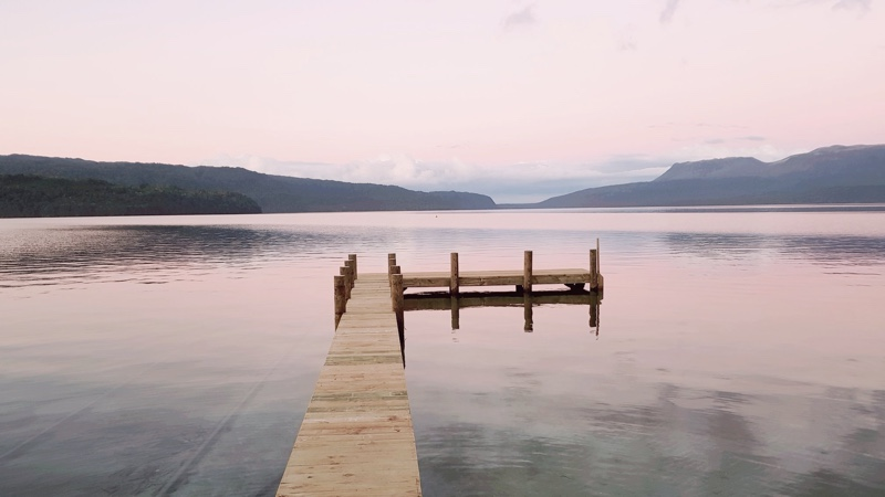 Jetty project, Lake Tarawera BOP