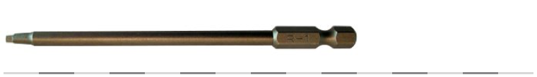 Superscrews 110mm Square drive bit #1