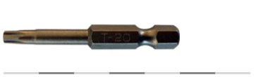 Superscrews Torx/Star 20 Driver Bit